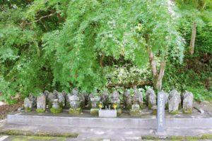 可児市天龍寺にある明智光秀公一族の墓